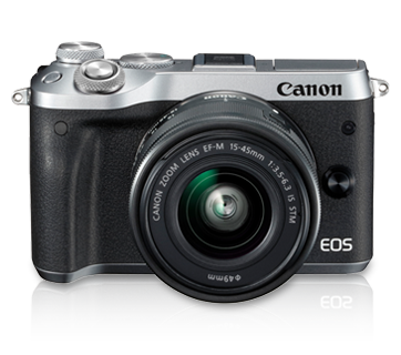 EOS M6 Kit (EF-M15-45 IS STM)