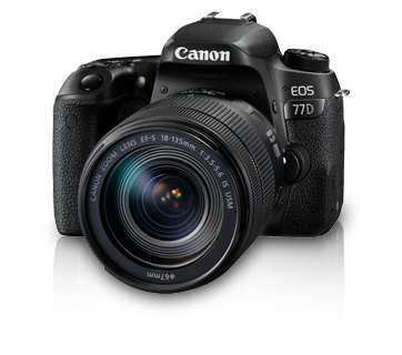 EOS 77D Kit (EF-S18-135 IS USM)