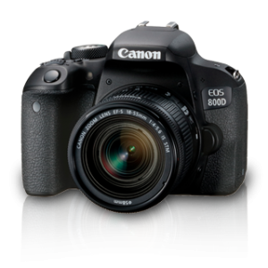 EOS 800D Kit (EF S18-55 IS STM)