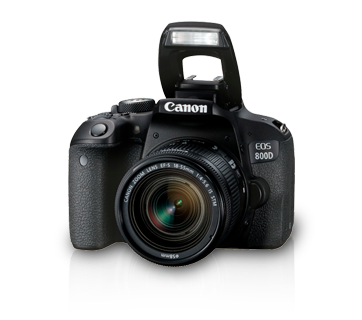 EOS 800D Kit (EF S18-135 IS STM)