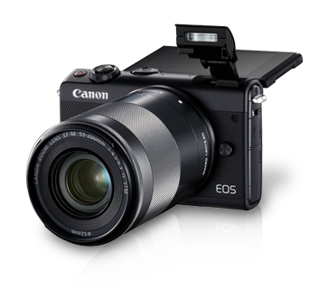 EOS M100 Kit (EF-M15-45 IS STM & EF-M55-200 IS STM)