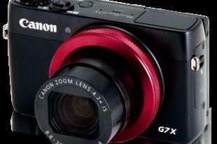 PowerShot G7 X (Red-ring Edition)