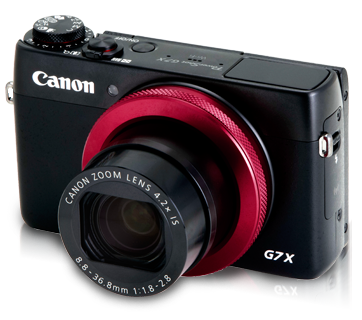 PowerShot G7 X (Red-ring Edition)
