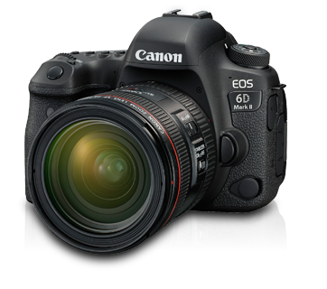 Canon EOS 6D Mark II Kit | EF 24-70mm f-4L IS USM